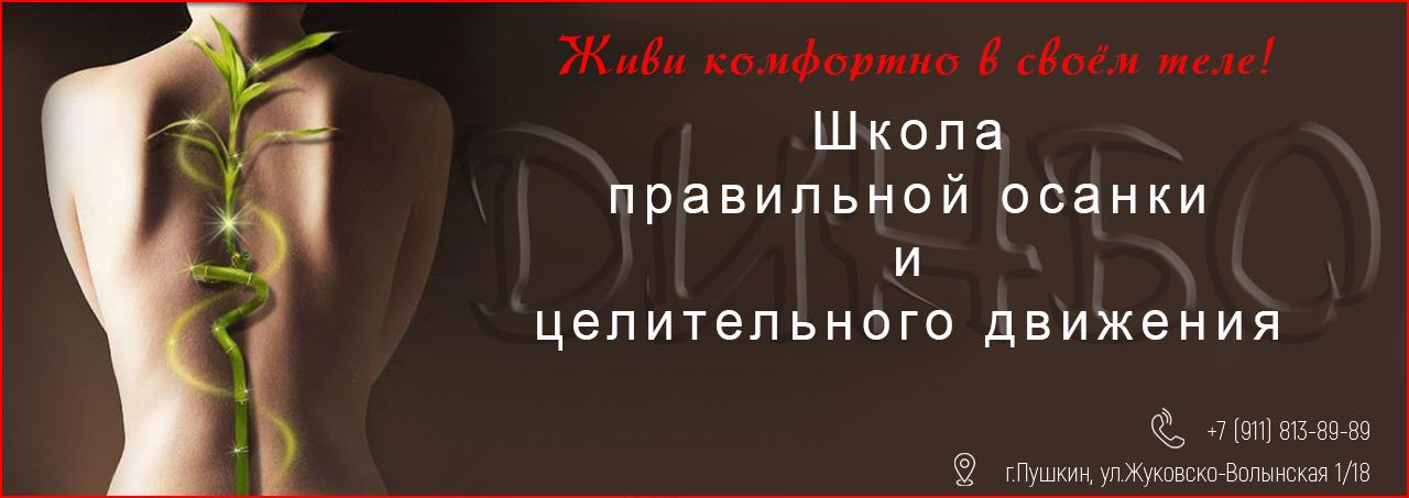 ДИНБО — школа правильной осанки и целительного движения, г.Пушкин